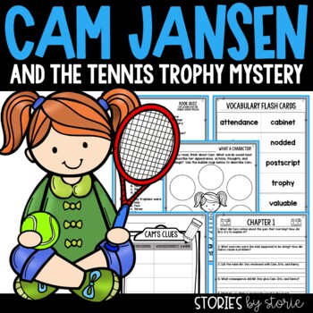 Cam Jansen and the Tennis Trophy Mystery Book Questions and Vocabulary