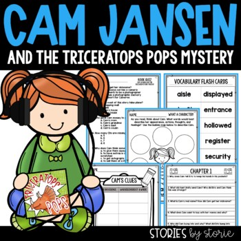 Cam Jansen and the Triceratops Pops Mystery Book Questions