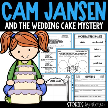 Cam Jansen and the Wedding Cake Mystery Book Questions & Vocabulary