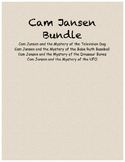 Cam Jansen comprehension questions Bundle #1