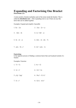 Cambridge International Mathematics Booklet Two