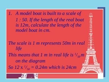 Cambridge International Mathematics PPT 39   – Scale Drawing