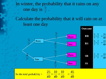 Cambridge International Mathematics PPT 44   � Probability