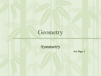 Cambridge International Mathematics PPT 47   – Symmetry