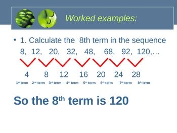 Cambridge International Mathematics PPT 53   – Sequences