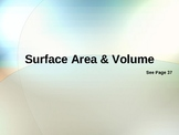 Cambridge International Mathematics PPT Nineteen -Surface Area