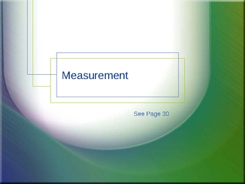 Cambridge International Mathematics PPT Sixteen –Units of Measurement