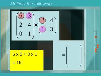 Cambridge International Mathematics PPT Thirty-one   –Matrices
