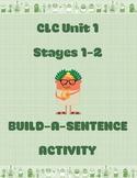 Cambridge Latin Course Unit 1 Stages 1-2 Build-a-Sentence Activity