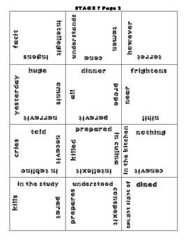 Cambridge Latin Course Unit 1 Stages 7-12 Vocab Puzzles