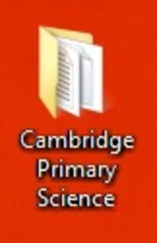 Cambridge Primary Science initial documents