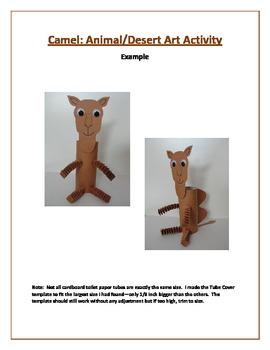 Camel: Animal/Desert/Literature Art Activity