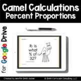 Camel Calculations Task Cards | Google Drive for Distance