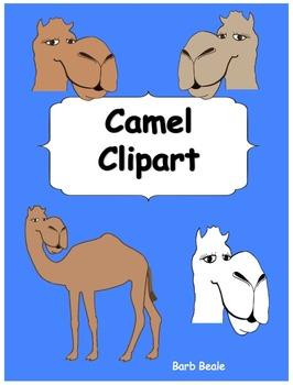 Camel Clipart - 7 files