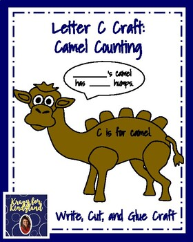Letter C Craft: Counting Camel