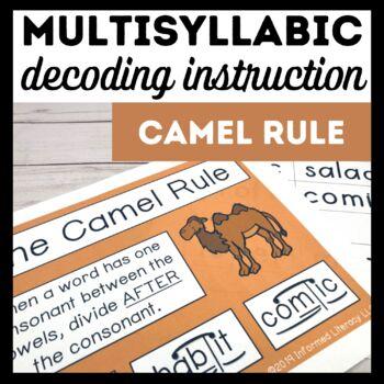 Camel Rule Book 4-Advanced Multisyllabic Decoding Strategies