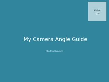 Camera Angle Activity