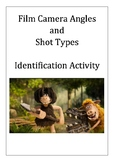 Camera Angles and Shot Types Identification Activity