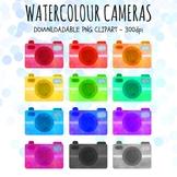 Camera Clipart, Watercolour Clipart, School Clipart, Tech Clipart