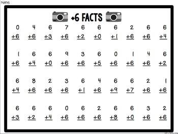 Camera Club Math Fact Mastery - 2nd Grade Edition