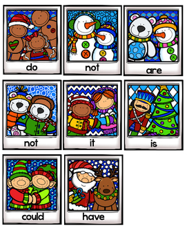 Christmas Camera Contractions