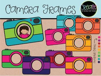 Camera Frames - Digital Clipart