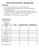 Camera Modes Worksheet-Photography 101
