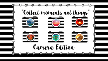 Camera Prints - Collect Moments Not Things - Adventure edition