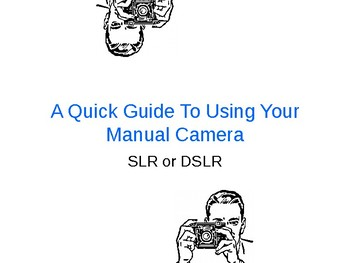 Camera Settings Worksheets & Teaching Resources | TpT