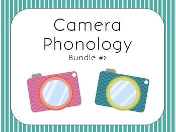 Camera Themed Phonology Bundle #2 for Speech Therapy