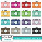 Camera-Vintage Camera- Clip Art Pack
