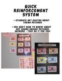 Camera Winner!  Classroom Reinforcement System
