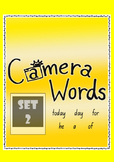 Camera Words Set 2 - Build, Write, Find, Use.