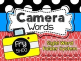 Camera Words - FRY 51-100 Sight Word Folder System - Engage Parents!