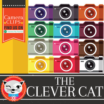 Cameras 12 Piece Clip Set Freebie! (by The Clever Cat)