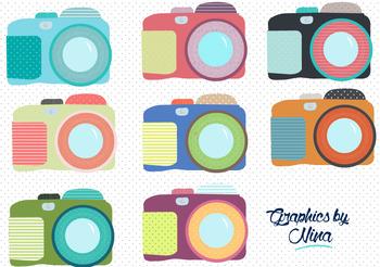 Cameras Clipart