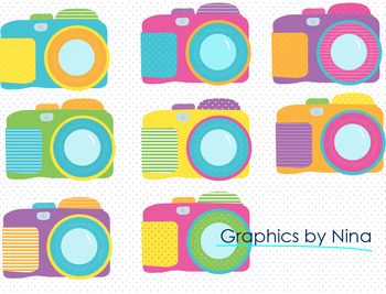 Cameras Clipart Version 2