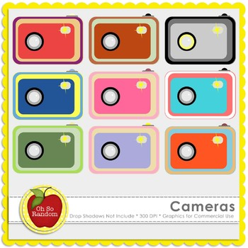 Cameras {Graphics for Commercial Use}