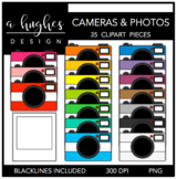 Cameras & Photos Clipart {A Hughes Design}