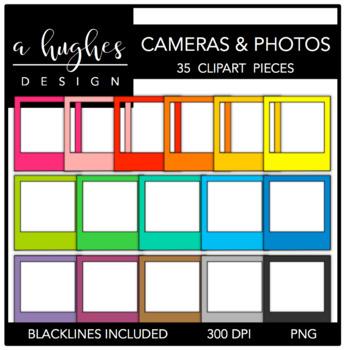 Cameras & Photos Clipart {A Hughes Design}