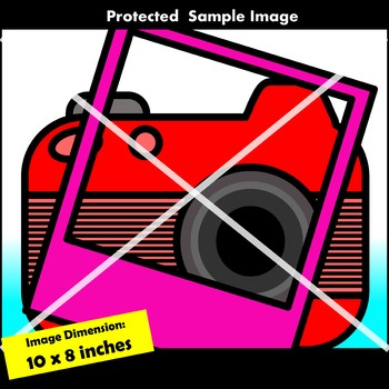 Cameras and Polaroids Clip Art Commercial Use