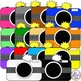 Camera Clip Art  12 PNG images for Commercial or Personal Use