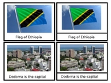 Cameroon - African Countries - Nomenclature Cards