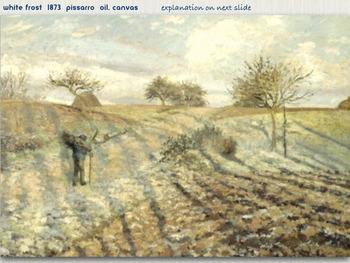 Camille Pissarro Art SHOW + TEST =  180 Slides Impressionism Pointillism ART