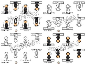 Camille Saint-Saens Finger Puppets and Conducting Charts (Composer of the Month)