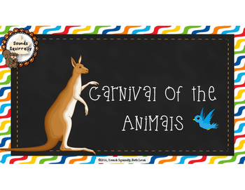 Carnival of the Animals Interactive Bulletin Board