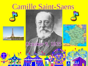 Camille Saint-Saens & The Carnival of the Animals Powerpoint