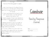 Caminar Reading Response Journal