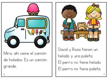 Ice cream truck Storybook in Spanish - Camion de Helados