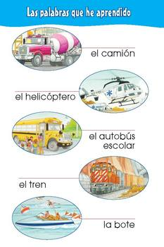 Camiones, Aviones y Trenes eBook & Read-Along Audio